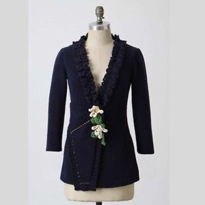 Anthropologie Sweaters - Anthropologie- Field and Flowers Knit Cardigan
